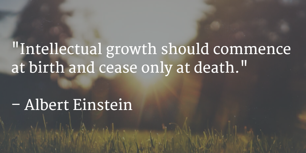 Albert Einstein on Growth